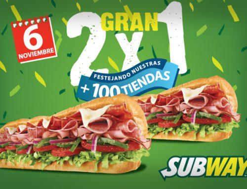 Subway 2×1
